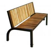 Banc en bois exotique longueur 1770 mm - Longueur (mm) : 1770