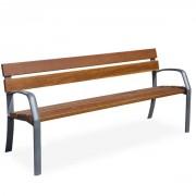 Banc en bois pour jardin 1800 mm - Longueur (mm) : 1800
