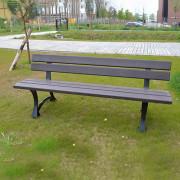 Banc extérieur plastique recyclé - Longueur (cm) : 150 ou 200