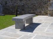 Banc granit Gris - Longueur: de 150 cm à 400 cm