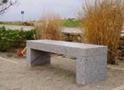 Banc indestructible granit