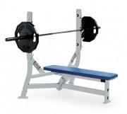 Banc plat olympique occasion - Longueur: 133 cm/Largeur: 127 cm/Hauteur: 127 cm