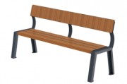 Banc public 180 cm - Longueur : 180 cm.