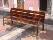 Banc public de jardin - Hauteur du siège (mm) : 450