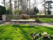 Banc public en granit - Longueur 150 cm ou 180 cm