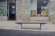 Banc public granit longueur 150 cm ou 180 cm - Longueur: 150 cm ou 180 cm