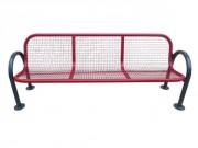 Banc public H 900 mm - Longueur  : 1200 - 2000 mm