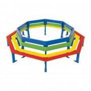 Banc tour d'arbre pour enfants - Diamètre extérieur : 2000 mm