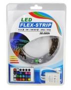Bande à LED haute puissance - Tension: 120 V - longueur: 50 m - à système RGB