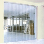 Bande pvc souple - Lanière en PVC souple pour porte fixe ou coulissante