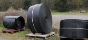 Bande transporteuse lisse en caoutchouc - Qualité anti abrasion - Résistance à la coupure