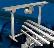 Bande transporteuse métallique pour charges légères - Pour charges légères