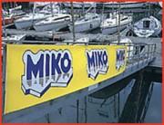 Banderole publicitaire en continu - 100% polyester, livrée en bobine ou en rouleau