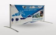 Banderole publicitaire sur mesure - Bâche personnalisé - Finitions : PVC, Nylon, Micro-perforé