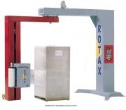 Banderoleuse automatique bras tournant - Capacité de production 20 à 80 palettes par heure