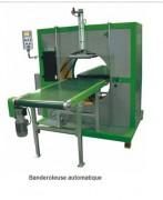 Banderoleuse automatique pour emballage horizontal - Poids maxi à transporter = 25 kg / ml