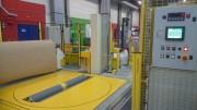 Banderoleuse pour bobines de papier ou carton - Axiale ou radiale automatique ou semi-automatique