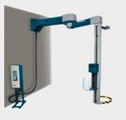 Banderoleuse verticale à bras tournant - Vitesse de rotation du bras (rpm) : De 4 à 12
