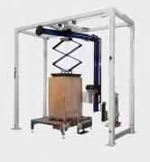 Banderoleuse verticale automatique à bras tournant - Vitesse de rotation max. du bras (rpm) : 22