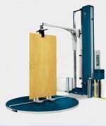 Banderoleuse verticale spéciale menuiserie - Vitesse de rotation du plateau (rpm) : De 4 à 12