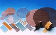Bandes panneaux disques - Tissus métalliques et synthétiques