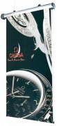 Bannière d'exposition à suspendre - Electrique - Dimension (Lxh) : 800 x 3300 mm