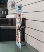 Bannière économique d'affichage - Dimension (Lxl) : 600 x 1600mm