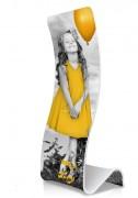 Bannière promotionnelle d'exposition - Dimensions : l 500 x H 2000 mm