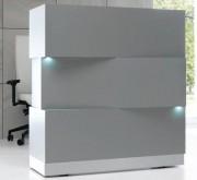 Banque d'accueil lumineuse à système LED - Banque d'accueil 113 x 68 x 120