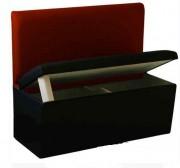 Banquette coffre pour restaurant - Dimensions (LxlxH) cm : 90 x 45 x 55