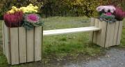 Banquette Jardinière publique - Contenance : 100 Litres