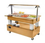 Bar à salade gastro buffet - Dimensions : L 1495 x P 855 x H 1405 mm