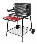 Barbecue à cuisson verticale - Structure en acier - Cuve en fonte