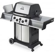 Barbecue à gaz 3 brûleurs - Brûleur principal : 13 kW - Brûleur de rôtisserie : 4,4 kW
