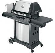 Barbecue à gaz - Brûleur principal : 13 kW - Brûleur latéral : 2,7 kW