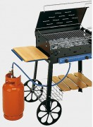 Barbecue à gaz et pierre de lave - Puissance des brûleurs: 10kw