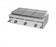 Barbecue à gaz grilles réglables - Grills à pierres volcaniques réfractaires