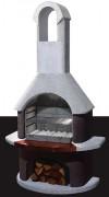 Barbecue à l'ancienne - Surface de grille de cuisson (L x l) : 54 x 33 cm