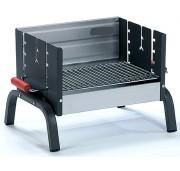 Barbecue de table en acier - Dimensions (L x l) : 42 x 32 cm