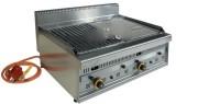 Barbecue professionnel au gaz - Dimensions (LxPxH) mm : 870 x 650 x 320