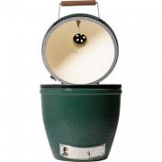 Barbecue professionnel en céramique réfractaire - Grille de cuisson : 46 cm de diamètre