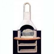 Barbecue traditionnelle - Dimensions (H x L x P) : 203 x 110 x 65 cm