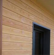 Bardages finis en bois - Bardage en douglas Profil S