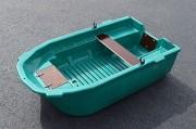 Barque de peche plastique - Capacité : 2 personnes maximum