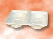 Barquette alimentaire ovale