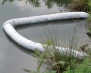 Barrage absorbant flottant - 100% écologique, en liège - 3 diamètres