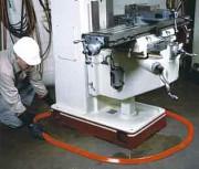 Barrage absorbant souple faible hauteur - Dimensions (L x l x h) : 3000 x 58 x 35 mm