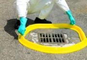 Barrage anti pollution polyuréthane - Dimensions (Lxlxh) : 300 x 10 x 7 cm - Etanche - Grille d'égout
