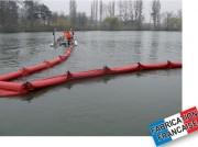 Barrage anti-pollution pour travaux maritimes - Longueur tronçon : 10 ou 25 m ou à la demande