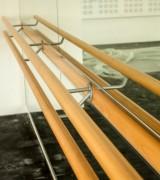 Barre de ballet en hêtre - Dimensions disponibles : 3 m